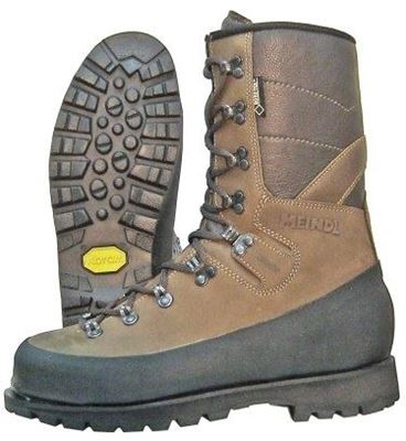 "Picture of 10"" Meindl Plain Toe Logger Ground Boot"