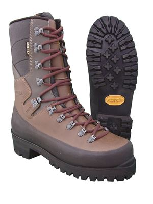 "Picture of 10"" Meindl Plain Toe Logger Lineman"