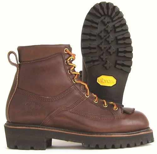 Leather Hiker Lineman Boots - Hoffman