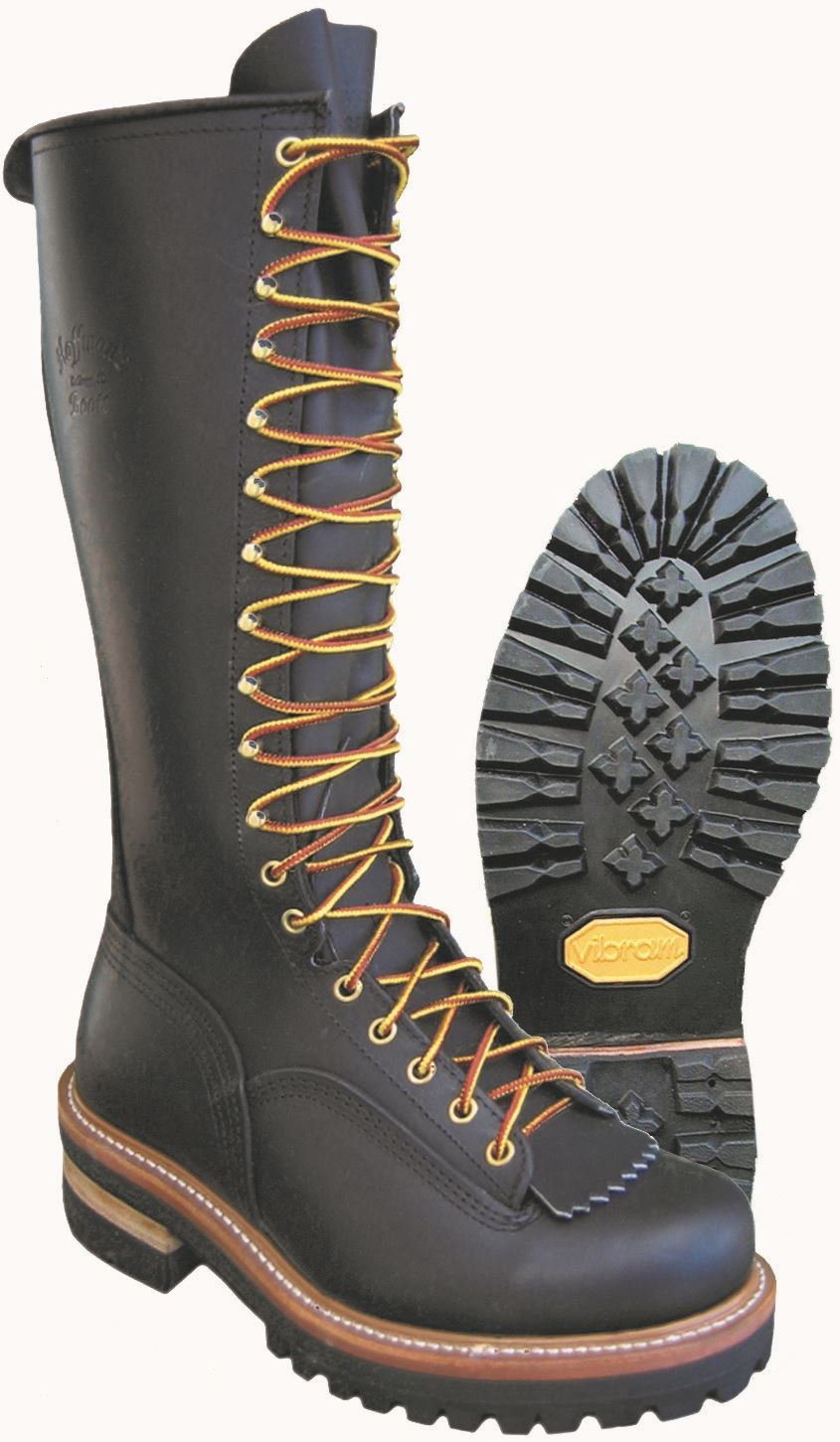 16 Quot Pole Climber Boots Hoffman Boots For All Your Boot