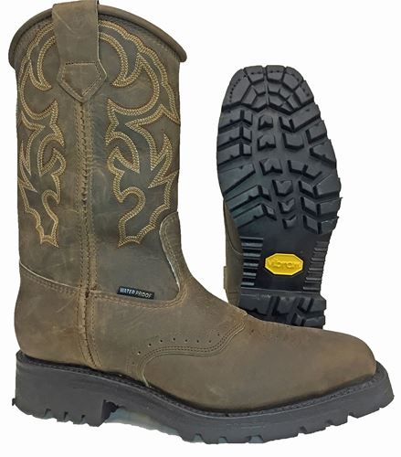Picture of Hoffman Rancher Plain Toe Line Boot