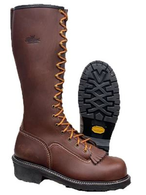 "Picture of Thorogood  16"" Unlined Composite Toe Lineman Boot"