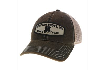 Picture of Hoffman Black Patch Cap