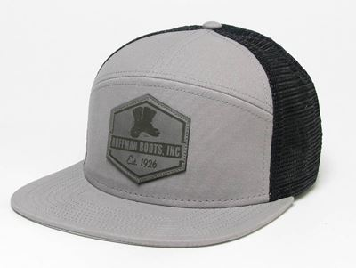 Picture of Hoffman Flat Brim Grey/Black Hat