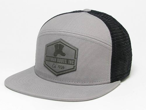 Picture of Hoffman Flat Brim Grey/Black Hat