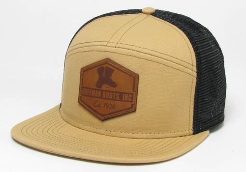Picture of Hoffman Flat Brim Straw / Black  Hat